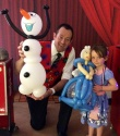 Frozen Themed Birthday Party In West Sussex