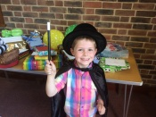 Young Magician At Birthday Party In Stubbington