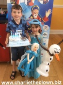 Disney's Frozen Themed Party In Alverstoke Gosport