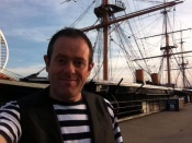 Charlie Performs Close Up Magician Onboard Hms Warrior