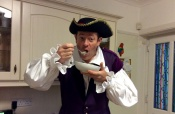 Charlie The Pirate Gets Ready For A Busy Day Of Magic Shows