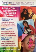 Charlie The Magician And The Magic Lady In Fareham Shopping Centre