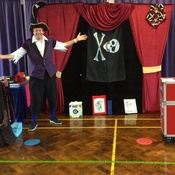 Magic Show In An Infant School In Waterlooville