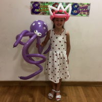 The Octopus And Princess Tiara.